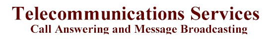 telecommunications services communications services